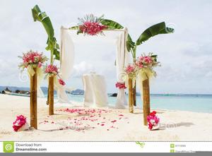 Free Beach Wedding Clipart.