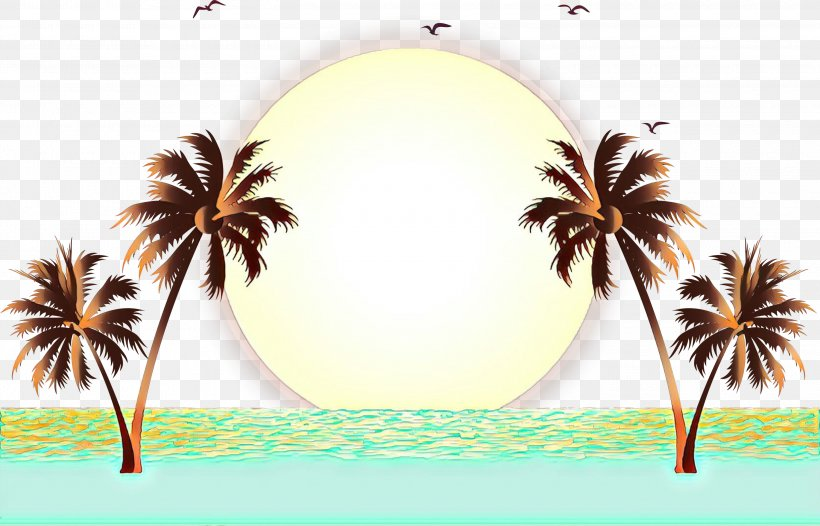 Vector Graphics Palm Trees Clip Art Beach Drawing, PNG.