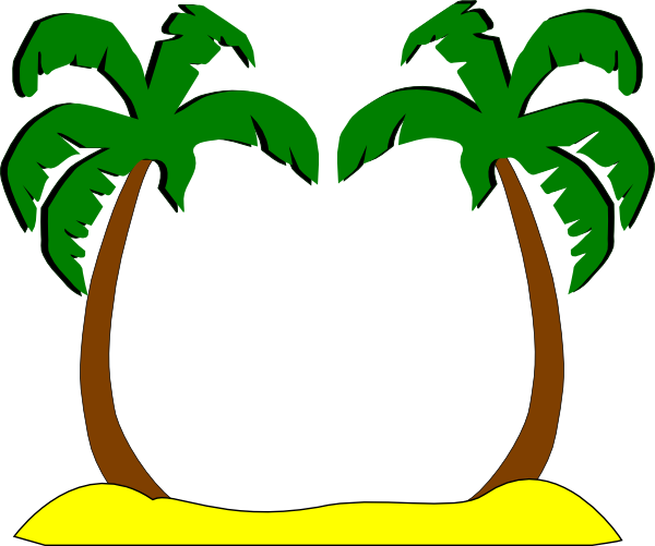Clipart palm trees beach 3 » Clipart Station.