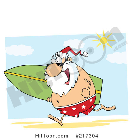 Beach Xmas Clipart And Photos.