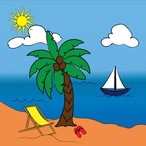 Beaches Clipart.