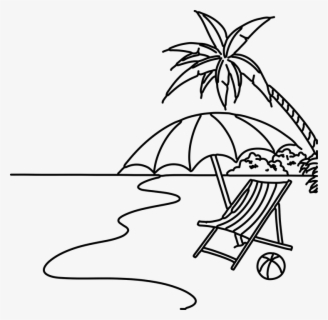Free Beach Clip Art with No Background.
