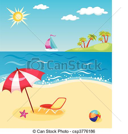 Beach Illustrations and Clipart. 113,207 Beach royalty free.