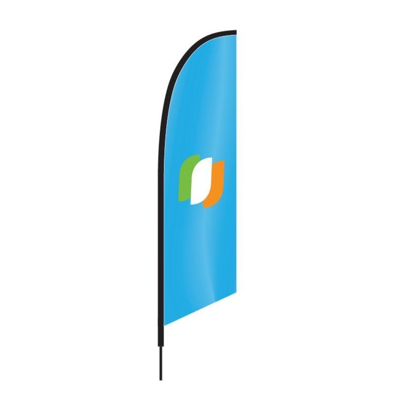 Beach flag Angled.