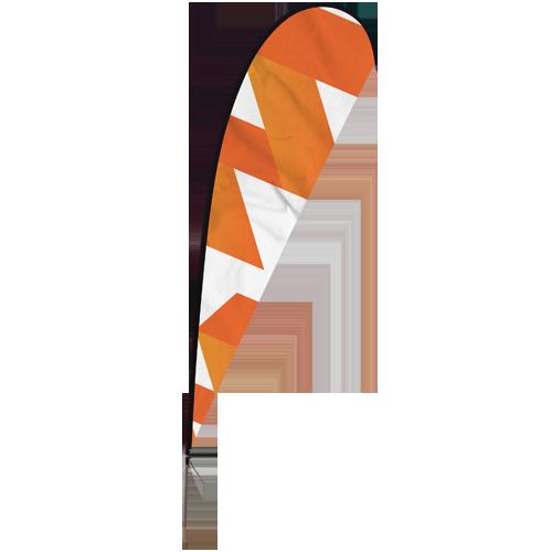Standard Beach Flag.
