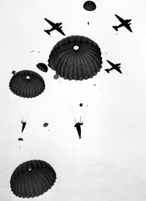 air assault on Utah Beachhead.