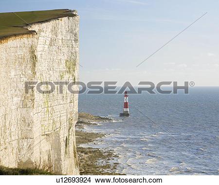 Stock Photo of England, East Sussex, Beachy Head. Beachy Head.
