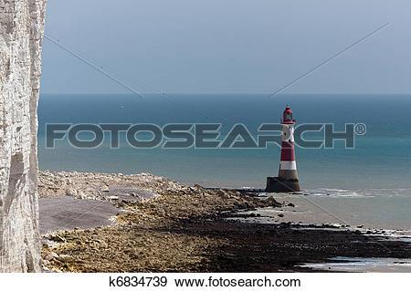 Stock Photograph of Beachy Head Lighthouse k6834739.