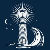 lighthouse clipart free #2