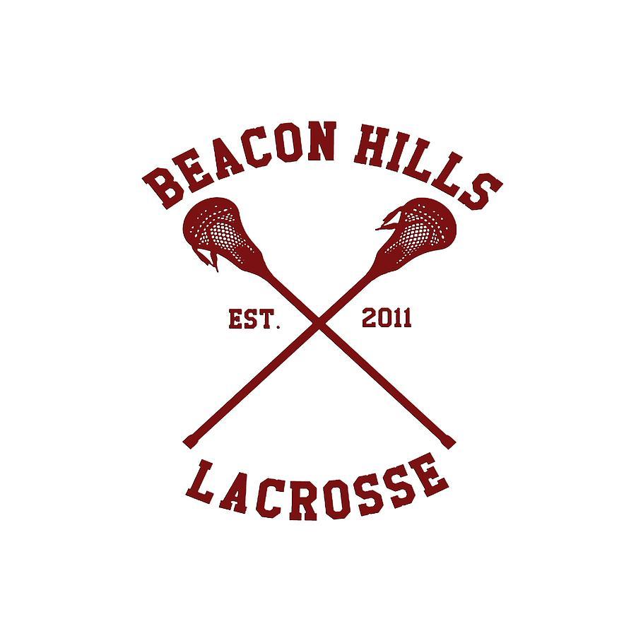 Beacon Hills Est 2011 Lacrosse Teen Wolf Team.