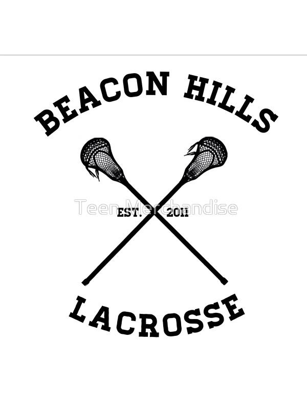 Beacon Hills Lacrosse Tshirt.