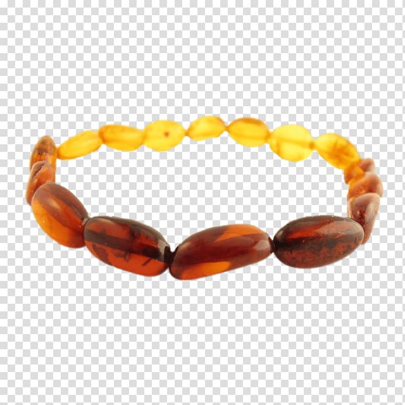 Amber Bead, bracelets transparent background PNG clipart.