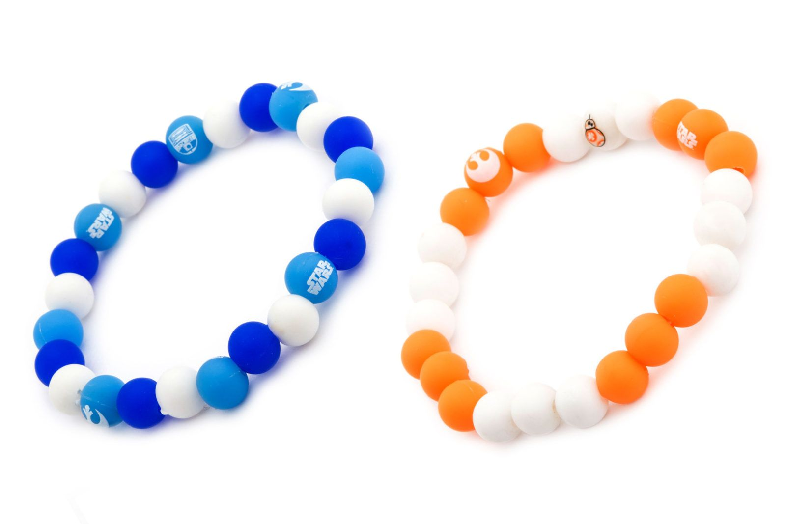 Body Vibe Droid Silicone Bead Bracelets.