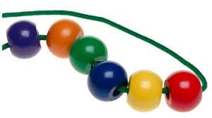 string beads clipart.