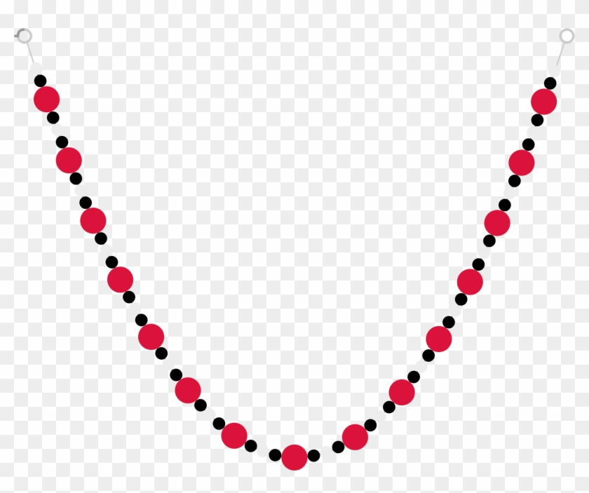 Svg Black And White Download Clipart Pictures Of Necklaces.
