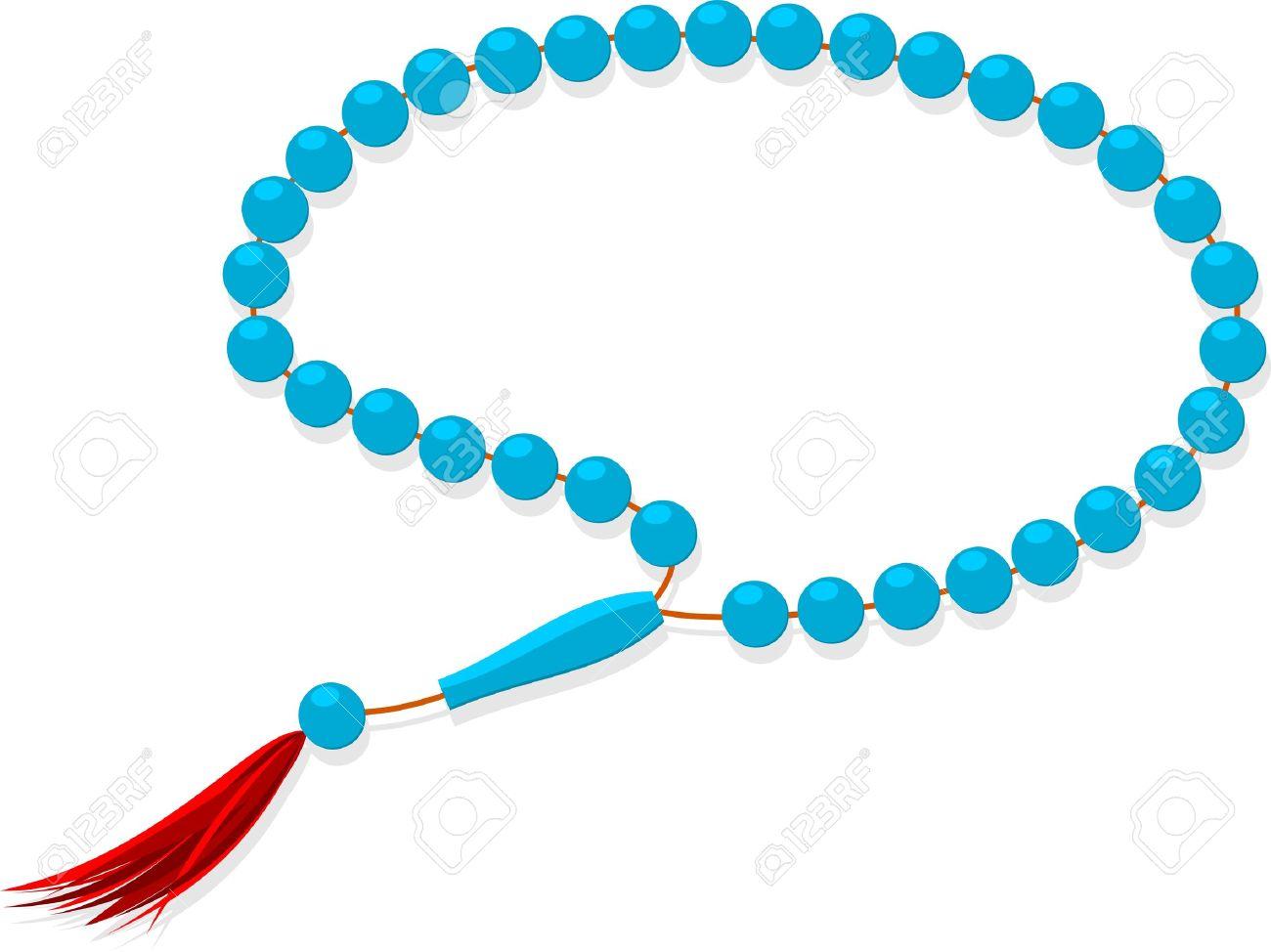 Muslim prayer beads.