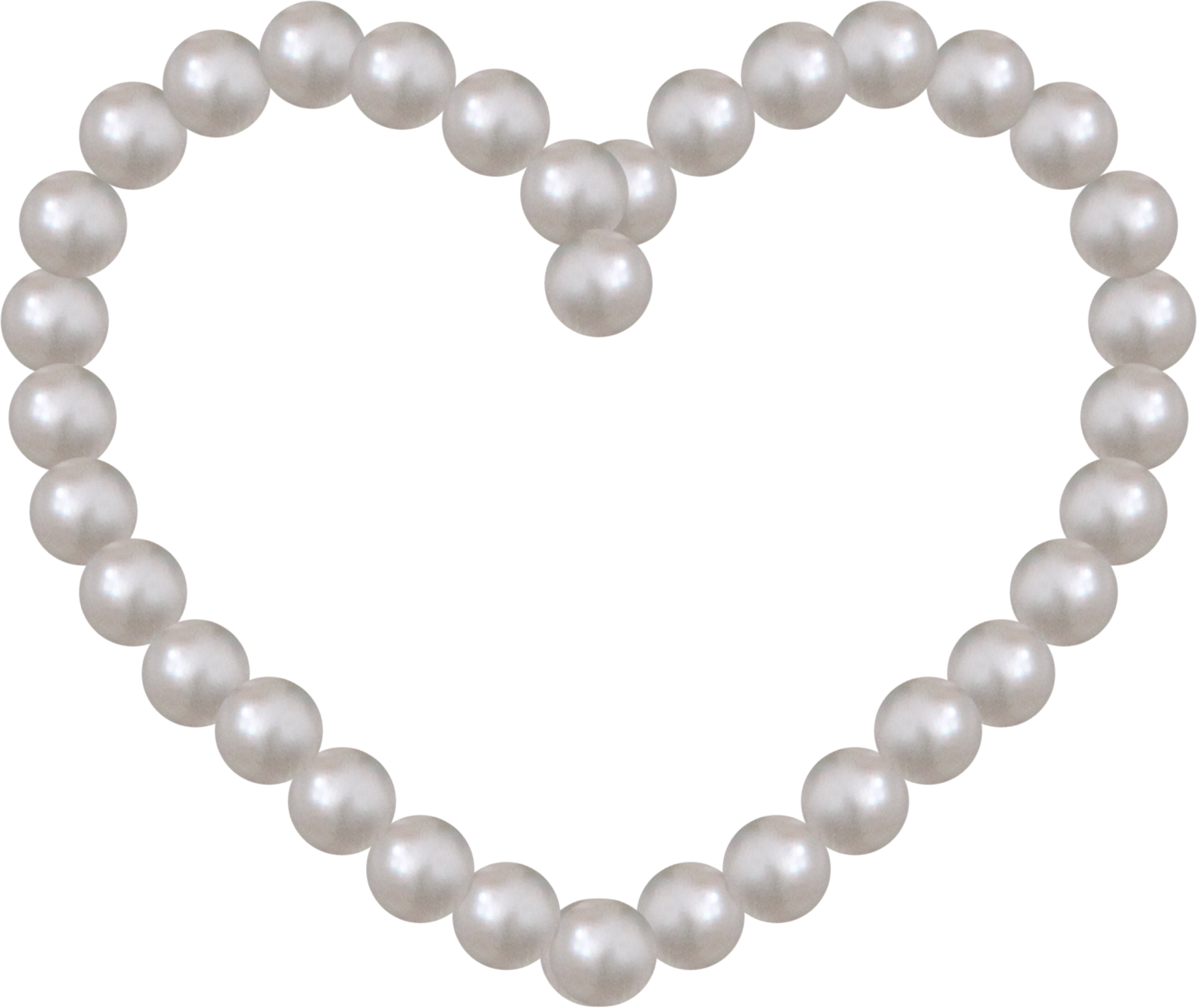 Beads PNG Image File.