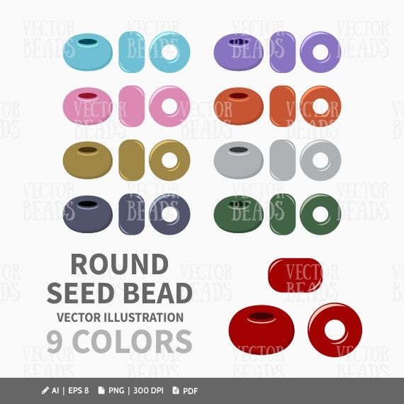 1000+ images about Seed Beads Vector Graphics on Pinterest.