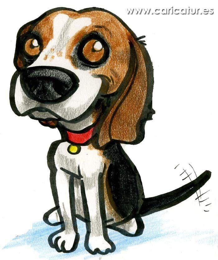 Beagle Cartoon.