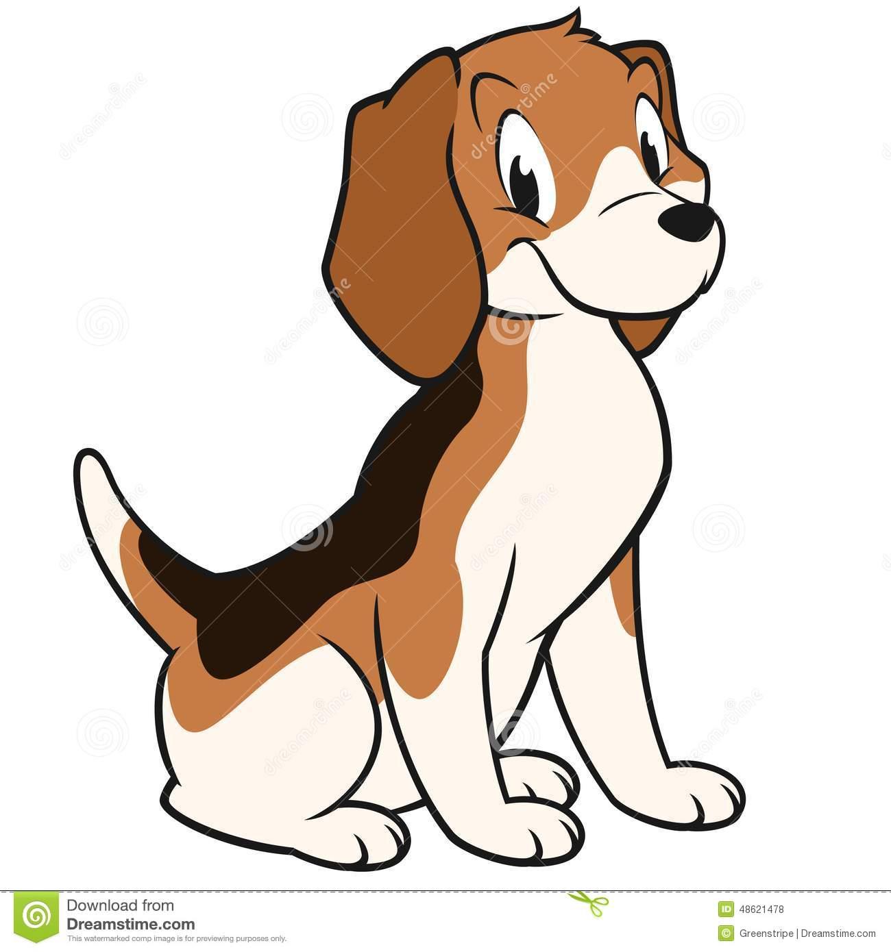 Beagle Stock Illustrations.