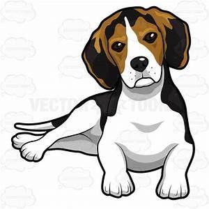 beagle clip art.