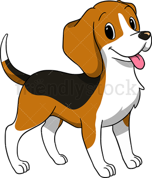 Dog Beagle Puppy Cartoon Clip Art Cute Cliparts Free Transparent Png.