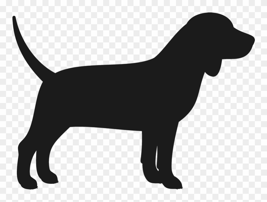 Beagle Svg Silhouette.