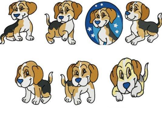 SSE Adorable Beagles Collection Adorable Beagles Machine.
