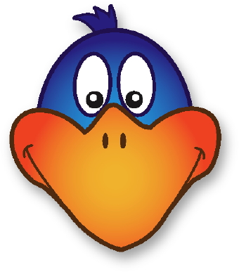 Duck beak clipart.