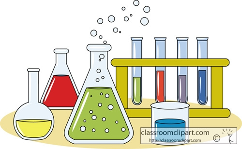 Science Beakers And Test Tubes Clipart & Free Clip Art Images #3274.