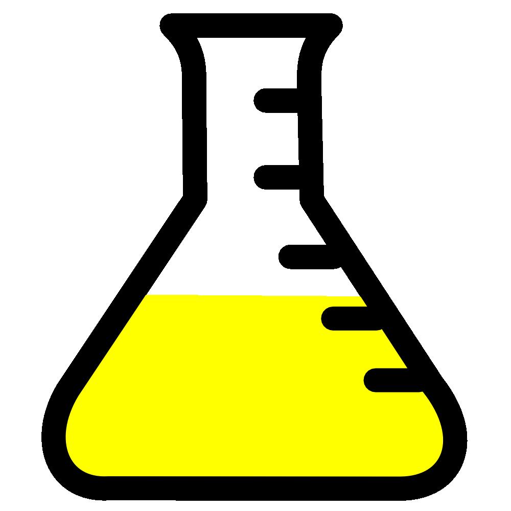 Chemistry Beaker Clipart.