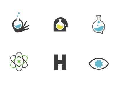 Beaker logos.