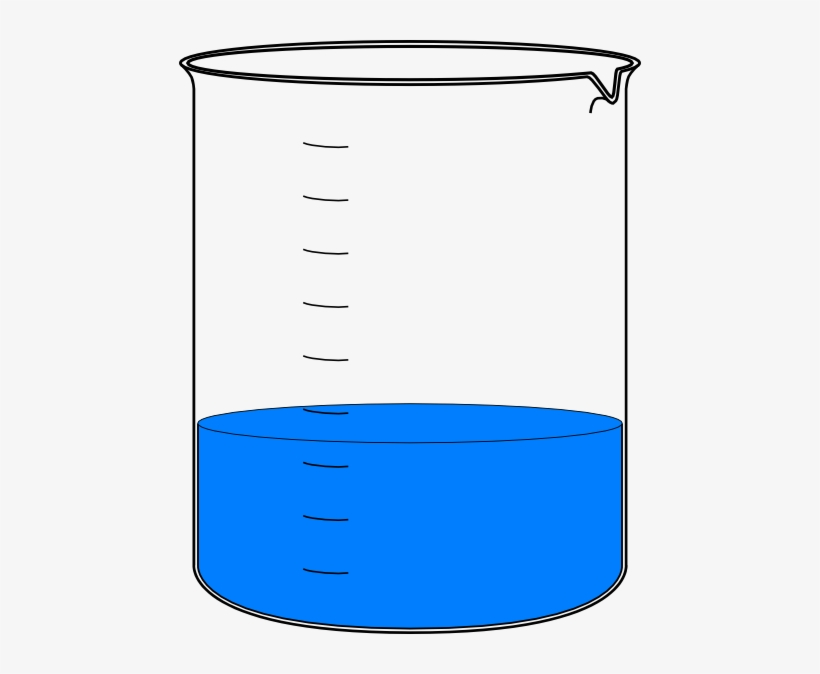 Beaker With Water Png.