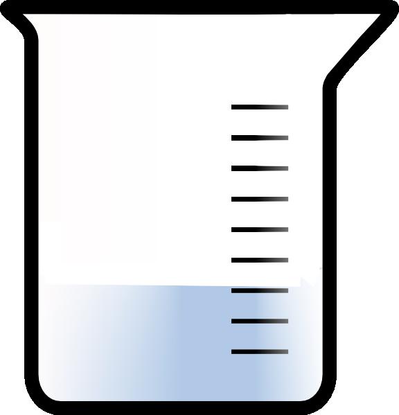Bubbling Beaker Clip Art free image.