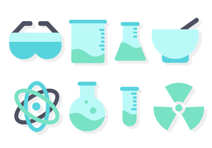 Free Chemistry Set Vector.