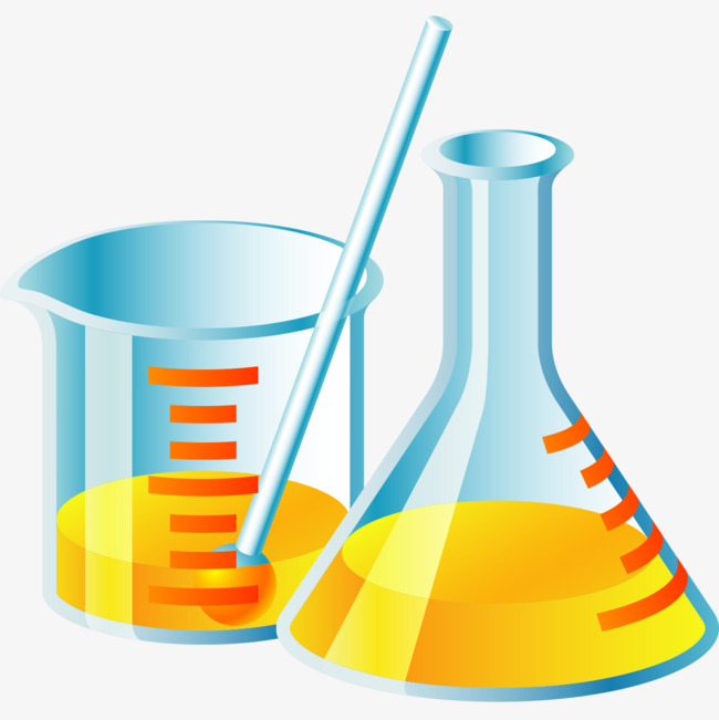 Great Graphics Beakers And Test Tubes, B #84166.