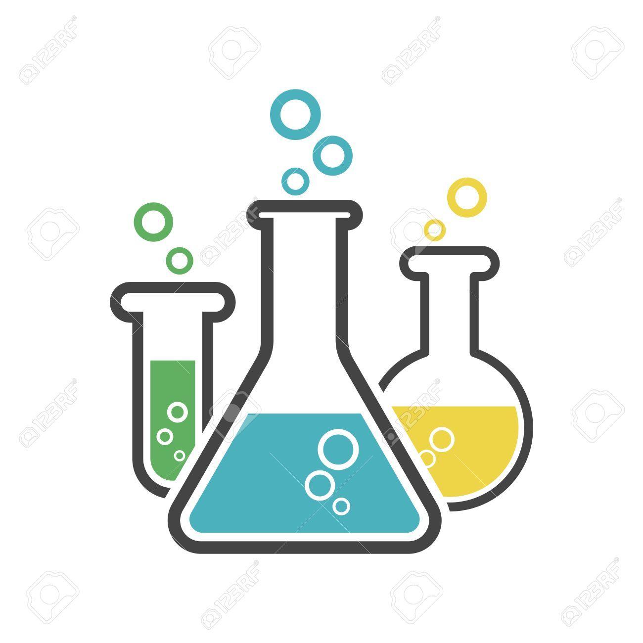 Chemistry beakers clipart 3 » Clipart Portal.