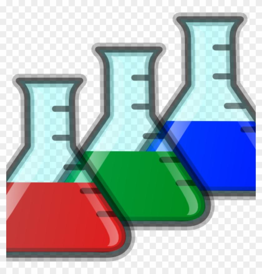 Science Beaker Clip Art Colored Beakers At Clker Vector.