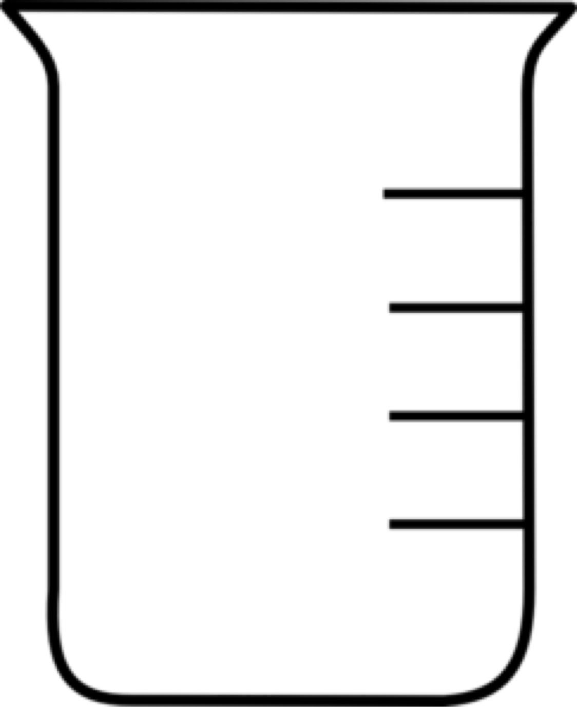 Empty Beaker Clipart.