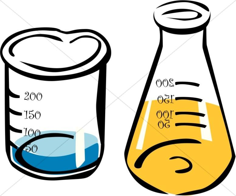 Fun School Science Beakers.