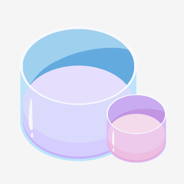 Exquisite Chemical Beaker Illustration, Laboratory Equipment.