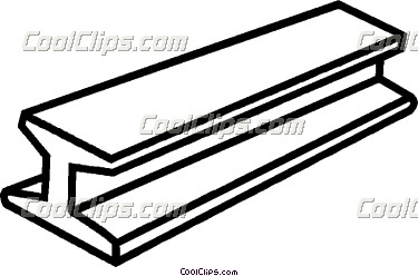 Steel beam clipart.