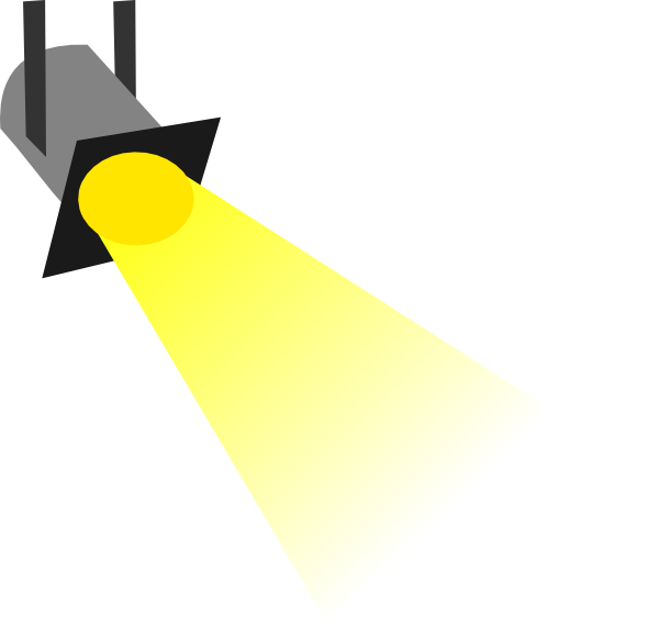 Beam light clipart #6