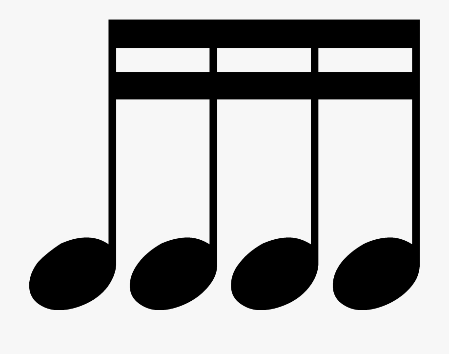 Double Sixteenth Notes Png.