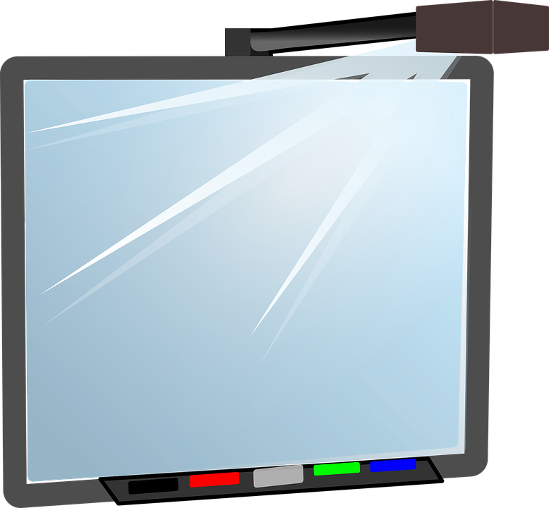 Free vector graphic: Interactive, Whiteboard.