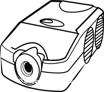 Projector Clip Art.