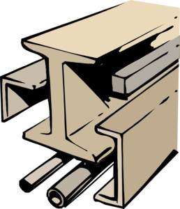 Support Beams Clipart.