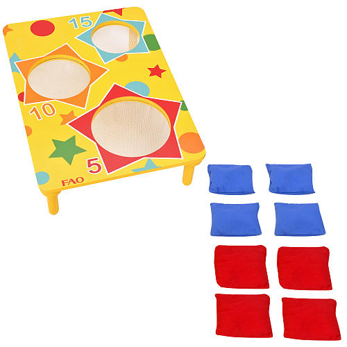 Bean Bag Toss Game Clipart.