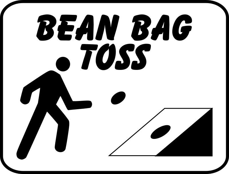 Bean bag toss clipart » Clipart Portal.