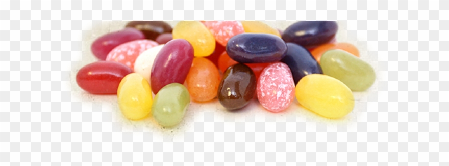 Jelly Bean Clipart Transparent Background.